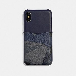 🎁IPhone X,XS Case In Sig Canvas with Camo Print